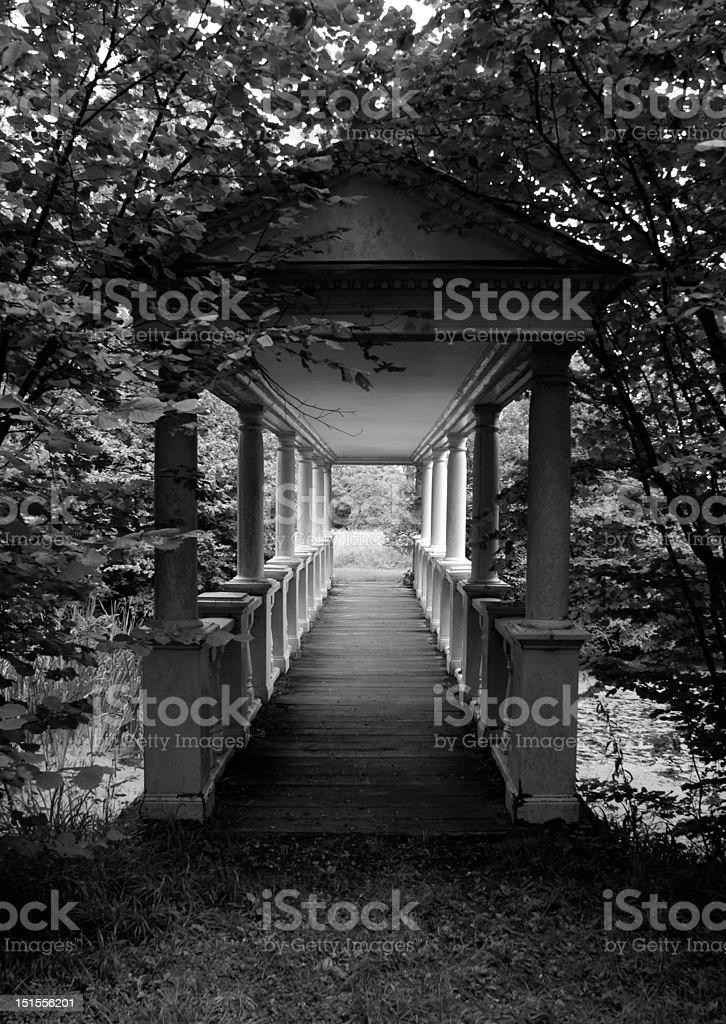Ornate Bridge stock photo