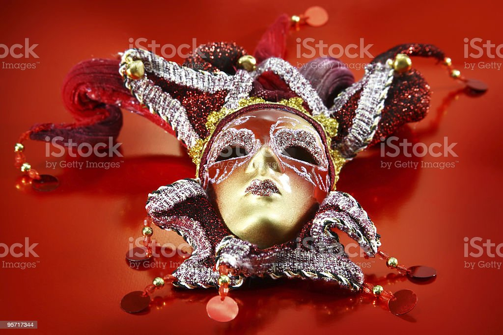 Ornate carnival mask royalty-free stock photo