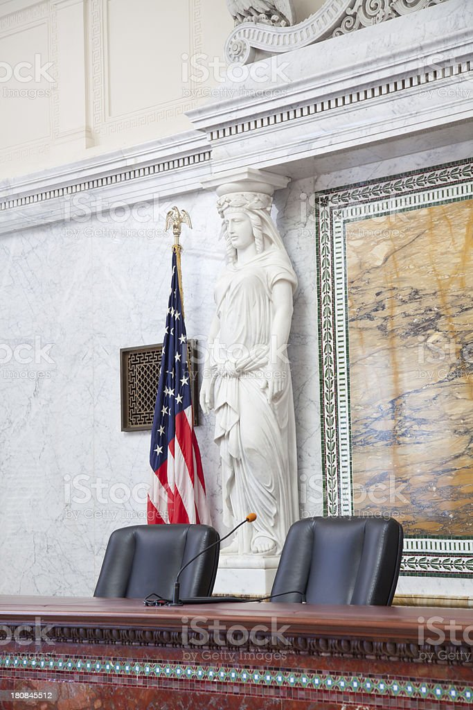 Ornate Chamber Room royalty-free stock photo