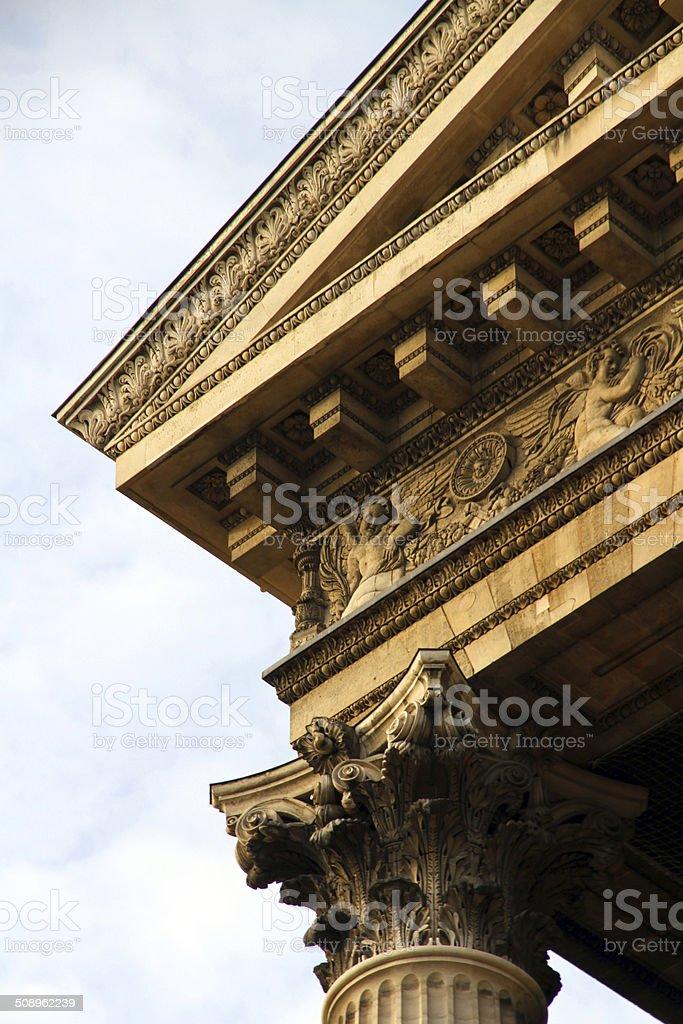 Ornate Curve royalty-free stock photo