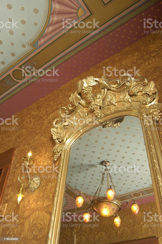 ornate home royalty-free stock photo