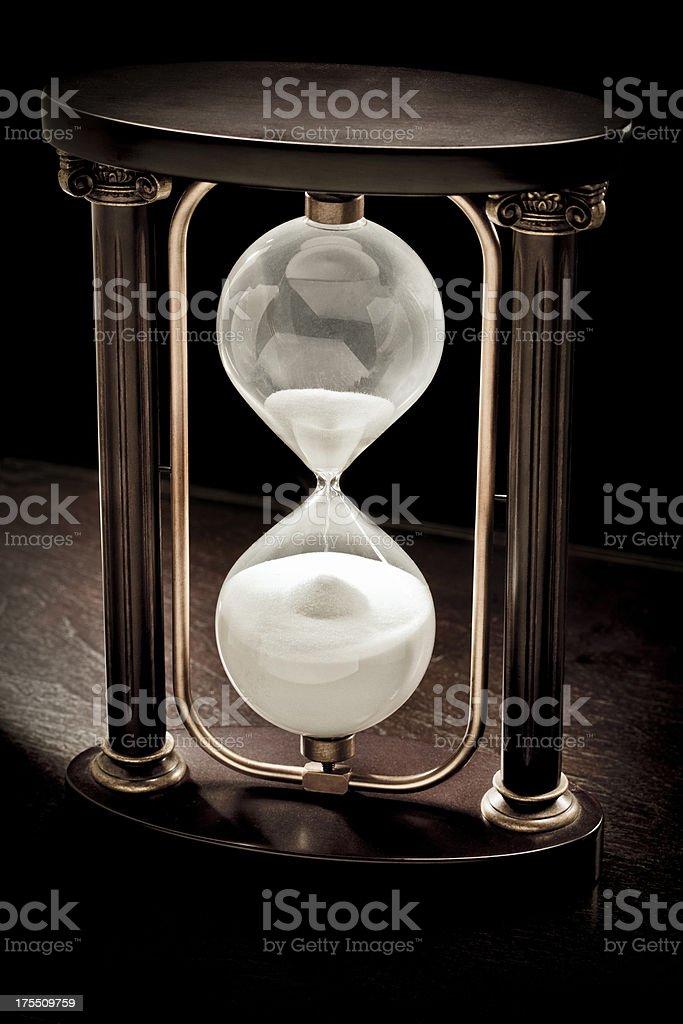 ornate hourglass royalty-free stock photo
