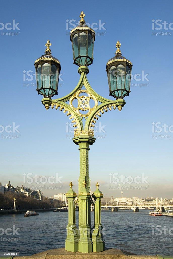 Ornate Lamp Post royalty-free stock photo
