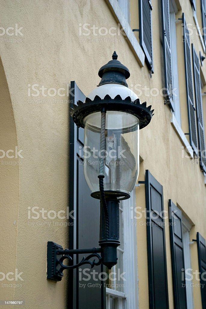 Ornate Lighting In Charleston, SC royalty-free stock photo