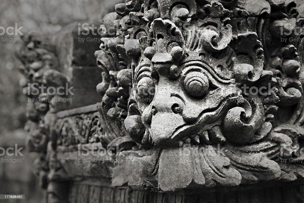 Ornate monster royalty-free stock photo