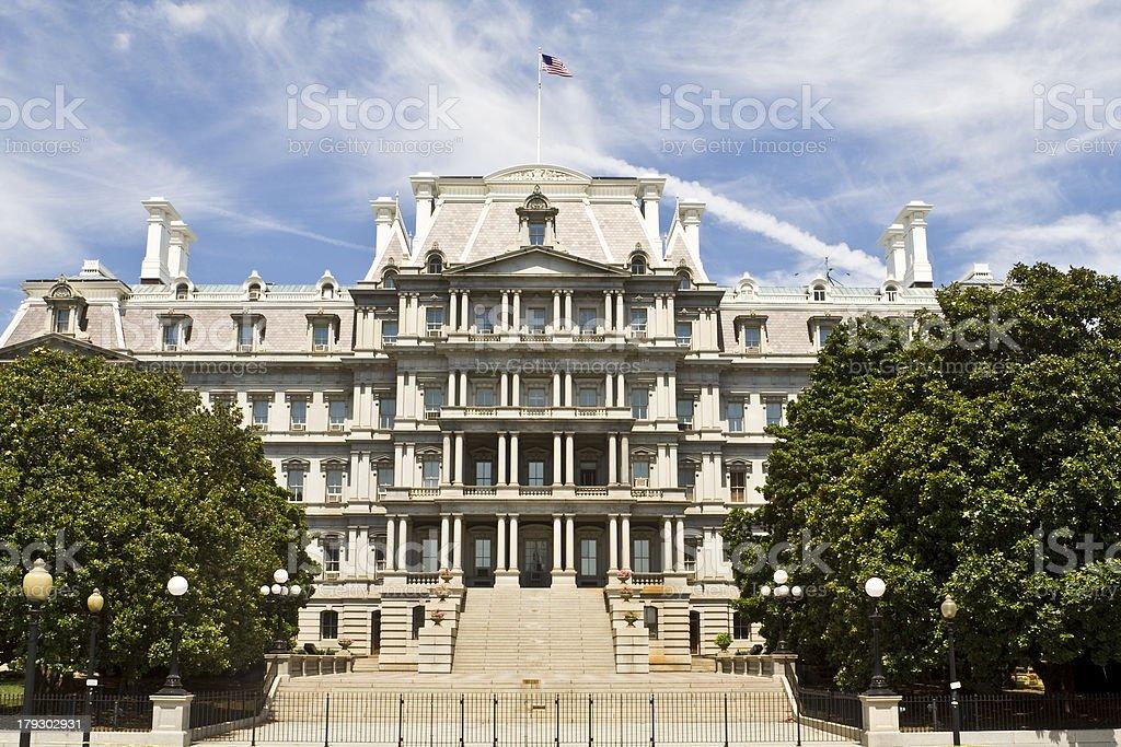 'Ornate Old Executive Office Building Washington DC, USA, Beaux-A' stock photo