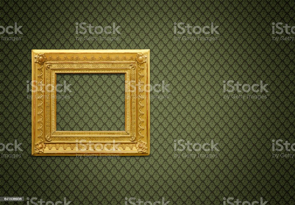 Ornate Picture Frame (All clipping paths included) stock photo