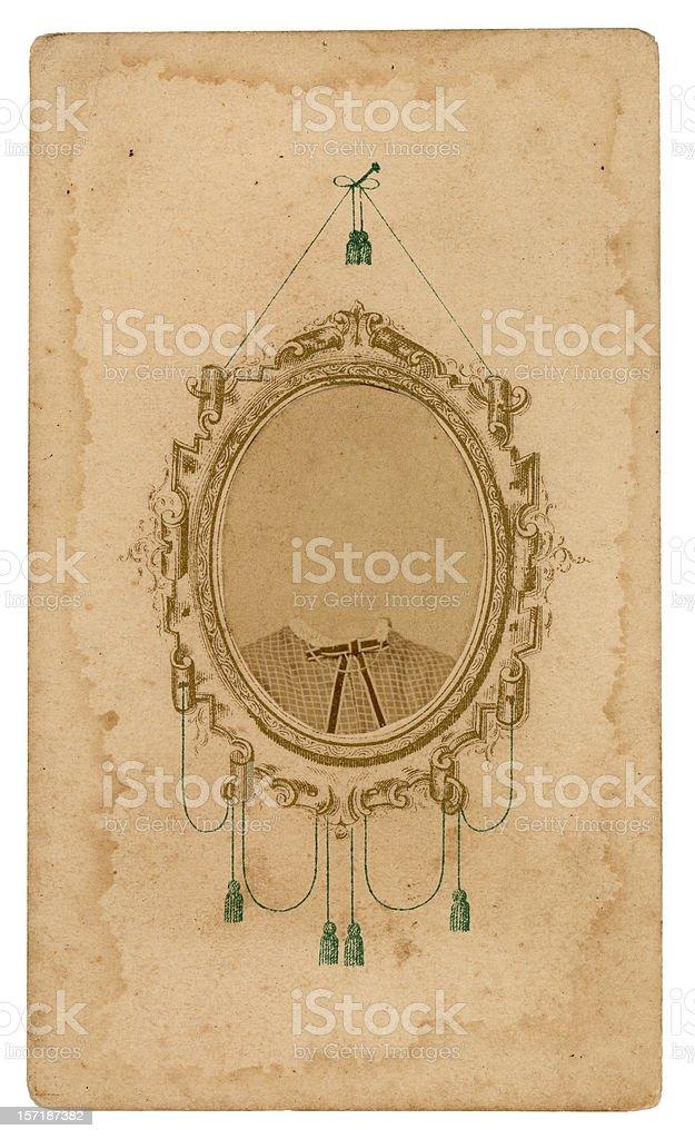 ornate vintage frame royalty-free stock photo