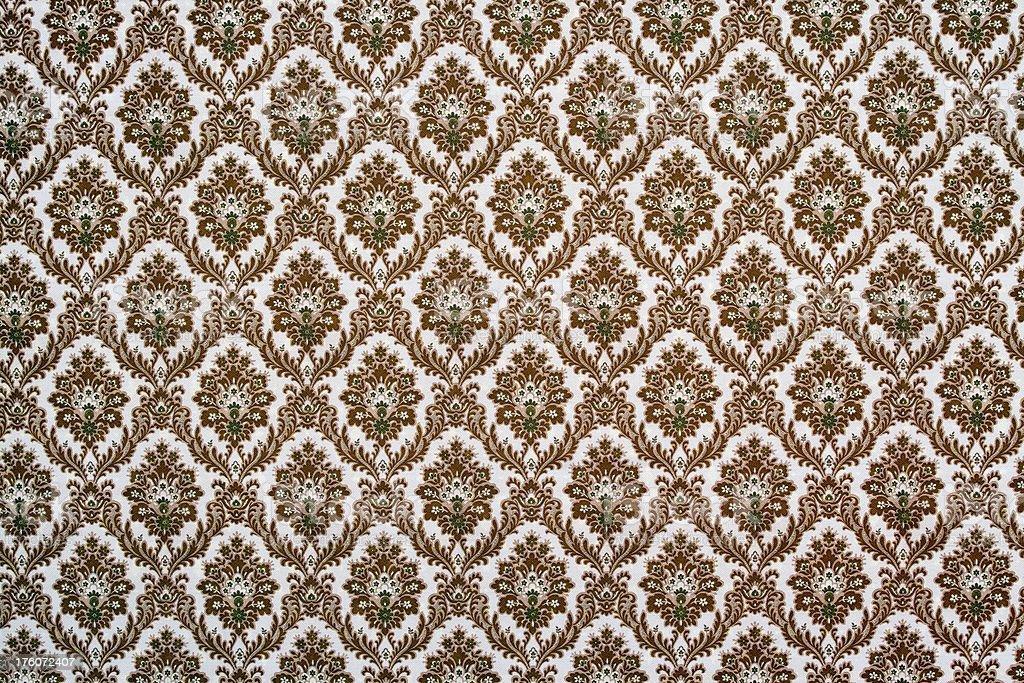ornate wallpaper royalty-free stock photo