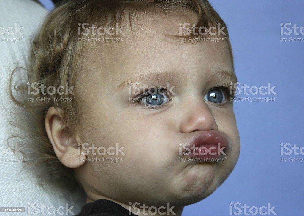 Ornery Boy royalty-free stock photo
