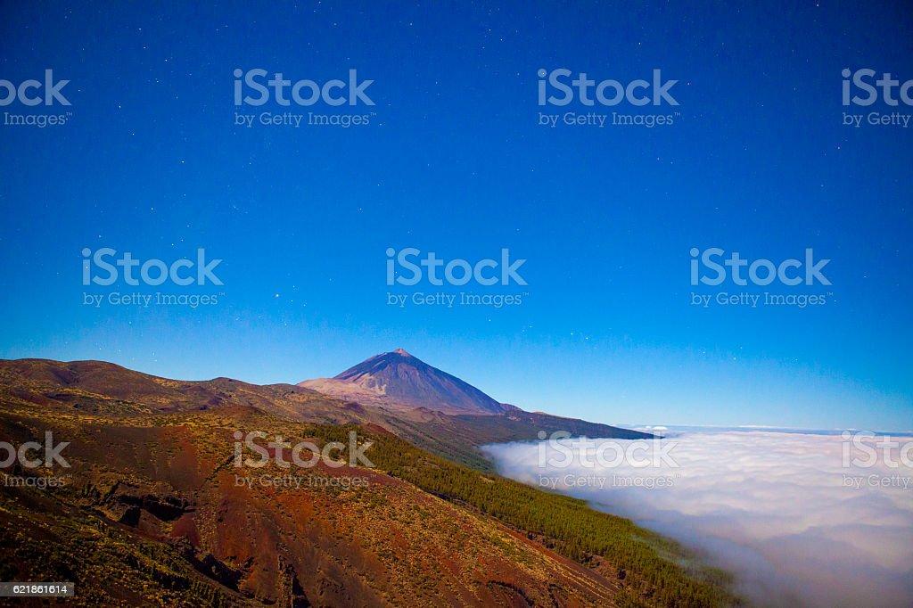 Orotava valley in Tenerife stock photo