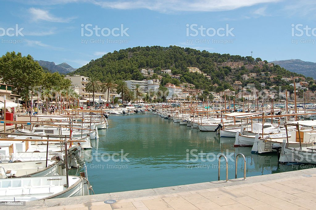 P'ort de Soller stock photo
