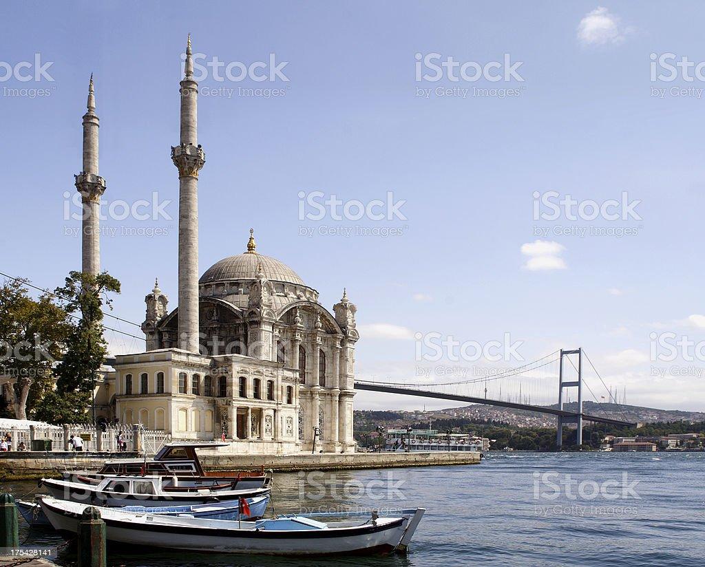 Ortakoy Istanbul. royalty-free stock photo