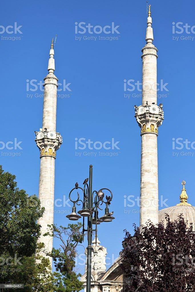 Ortakoy Mosque In Istanbul stock photo