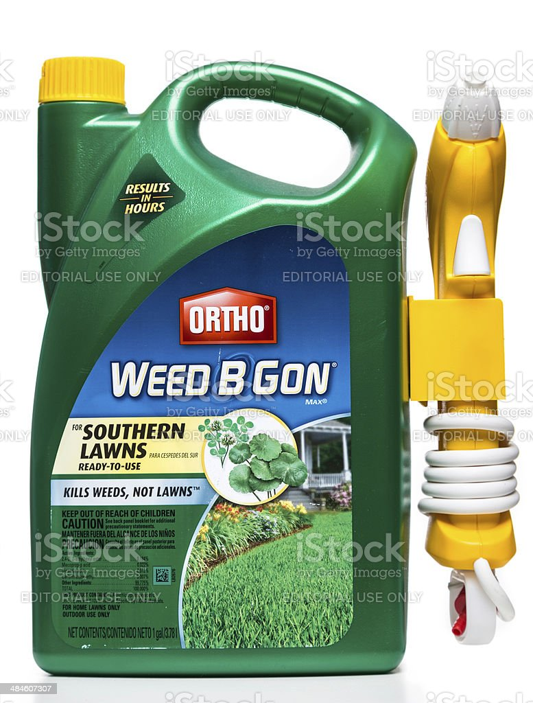Ortho Weed B Gon for Southern Lawns stock photo