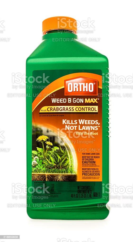 Ortho Weed B Gon stock photo