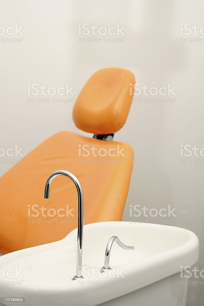 orthodontic chair royalty-free stock photo