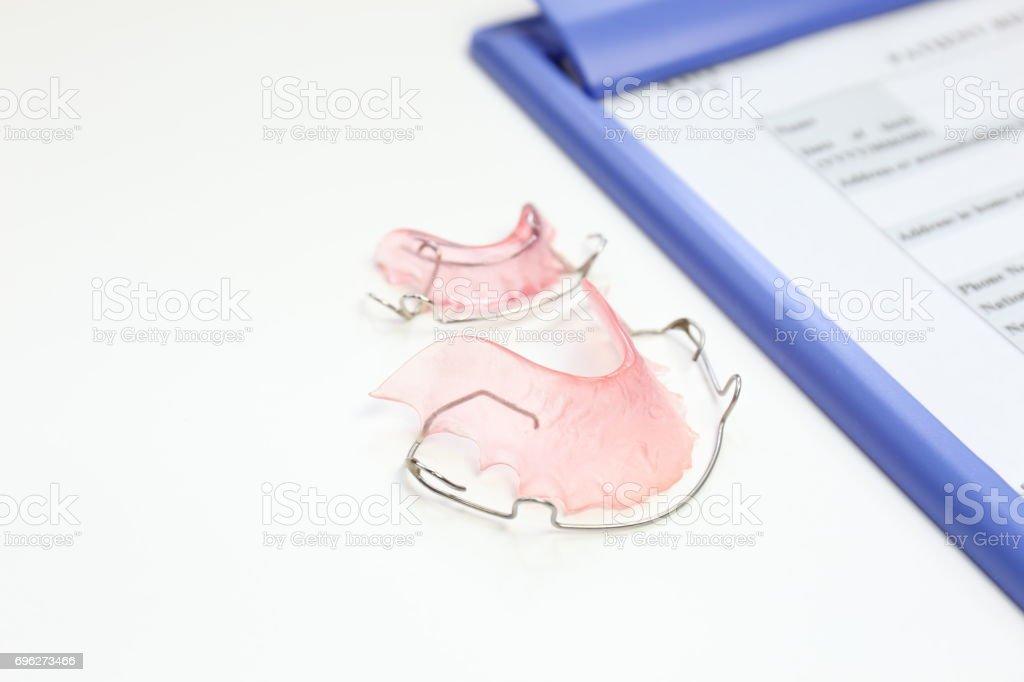 orthodontics stock photo