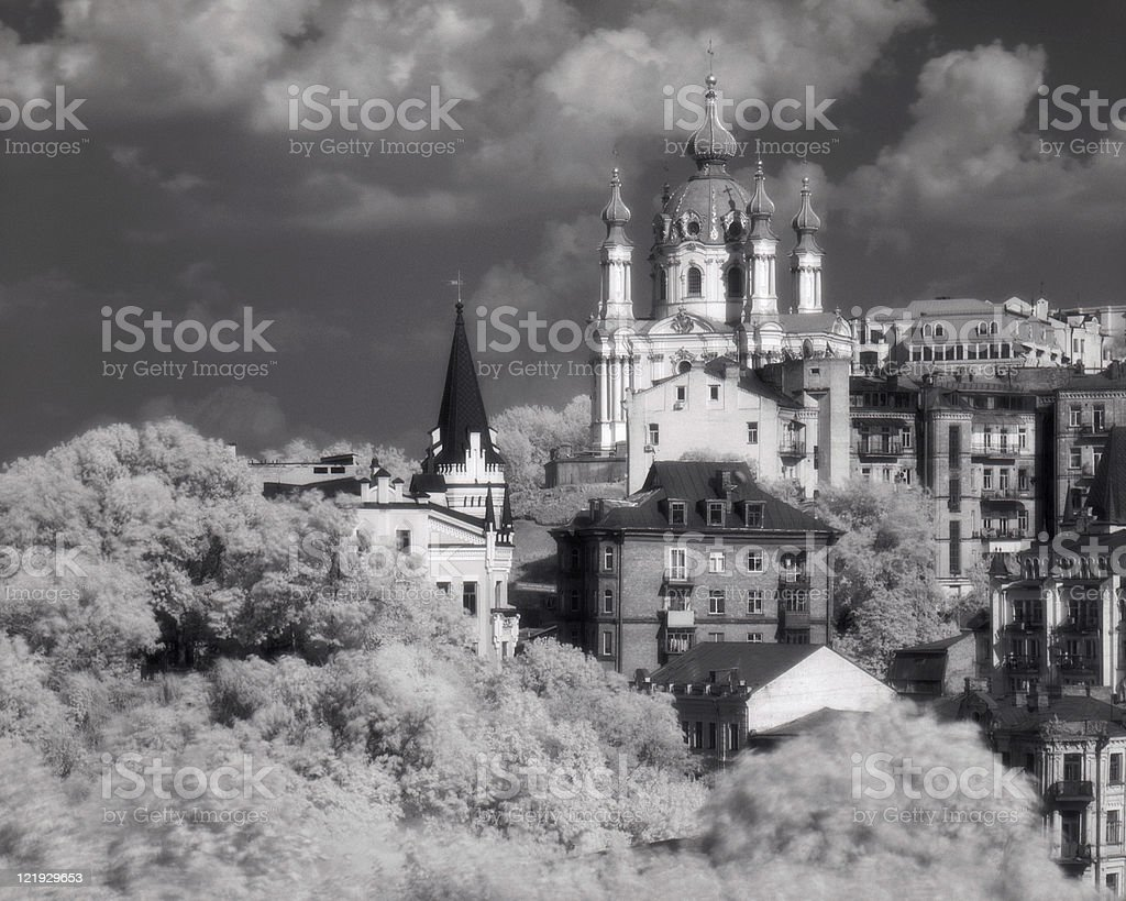 Orthodoxe Kathedrale Lizenzfreies stock-foto