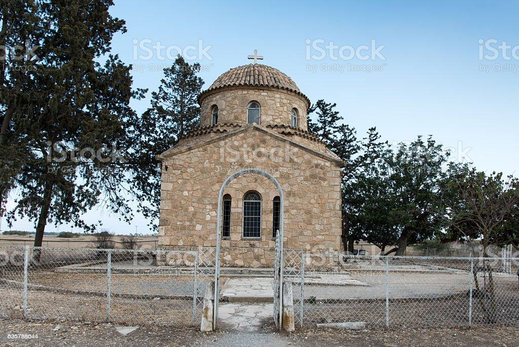 Orthodox Christian church Saint Barnabas Famagusta, Cyprus stock photo