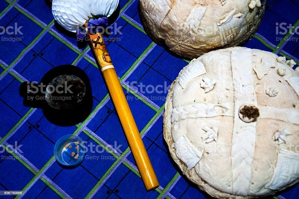Orthodox Christianity festivity ritual stock photo