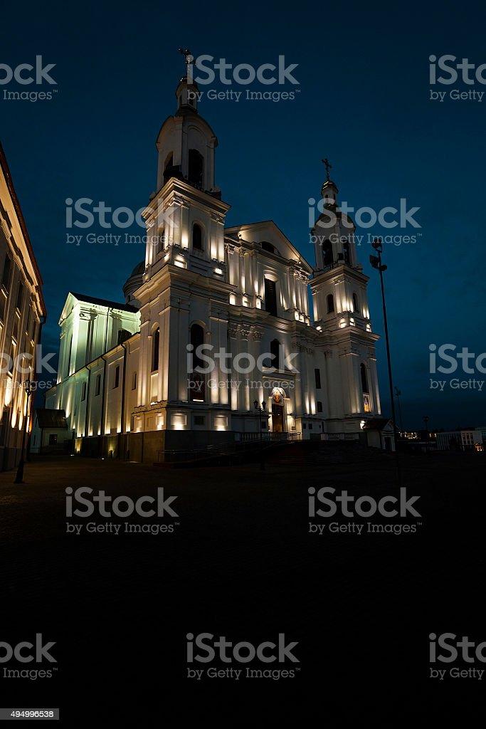 Orthodox Church .  Belarus stock photo