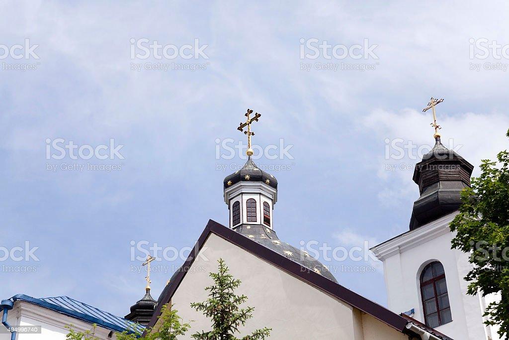 Orthodox Church.  Belarus stock photo