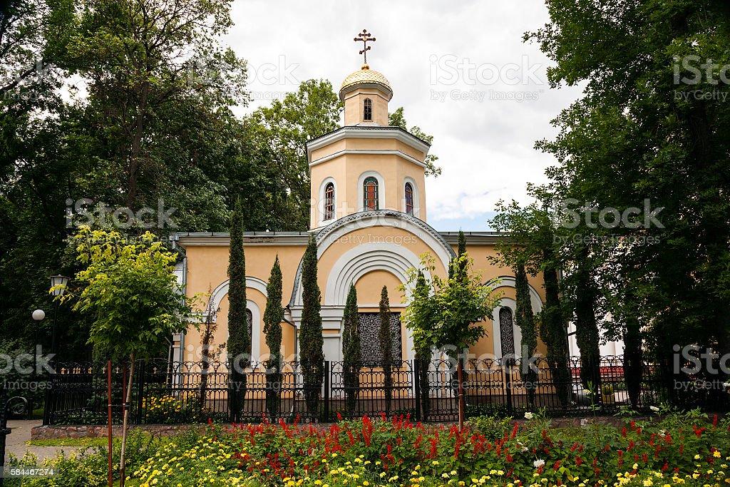 Orthodox Church , close up stock photo