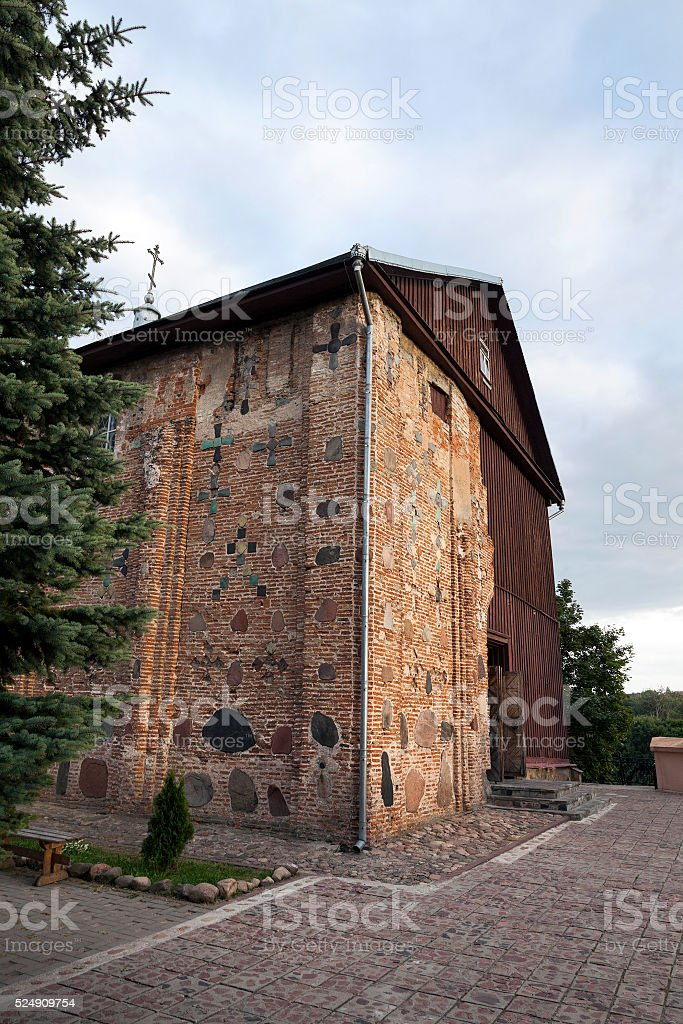 Orthodox Church, Grodno stock photo