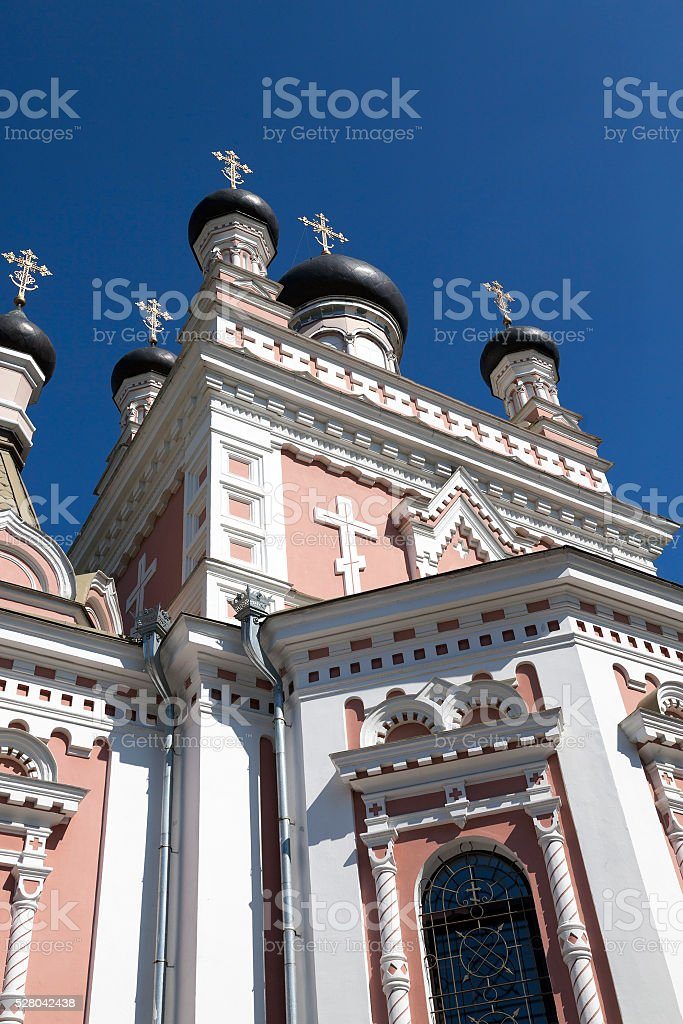 Orthodox Church Hrodna stock photo