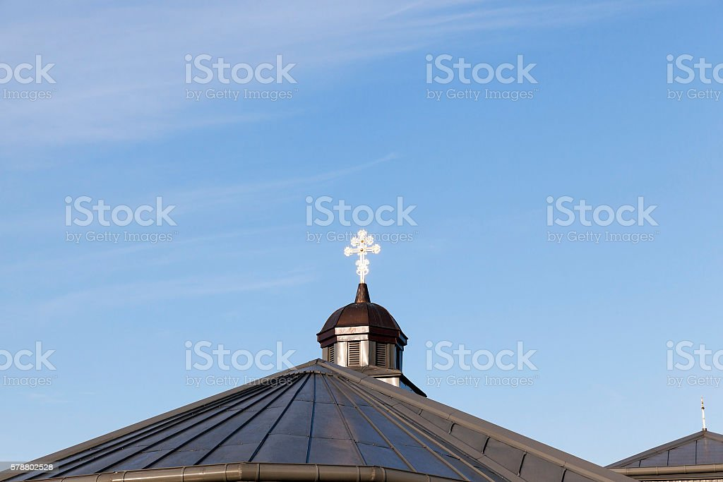 Orthodox Church in Belarus stock photo