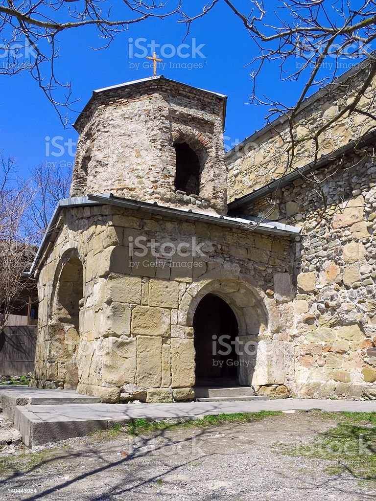 Orthodox church 'Zedazeni' royalty-free stock photo