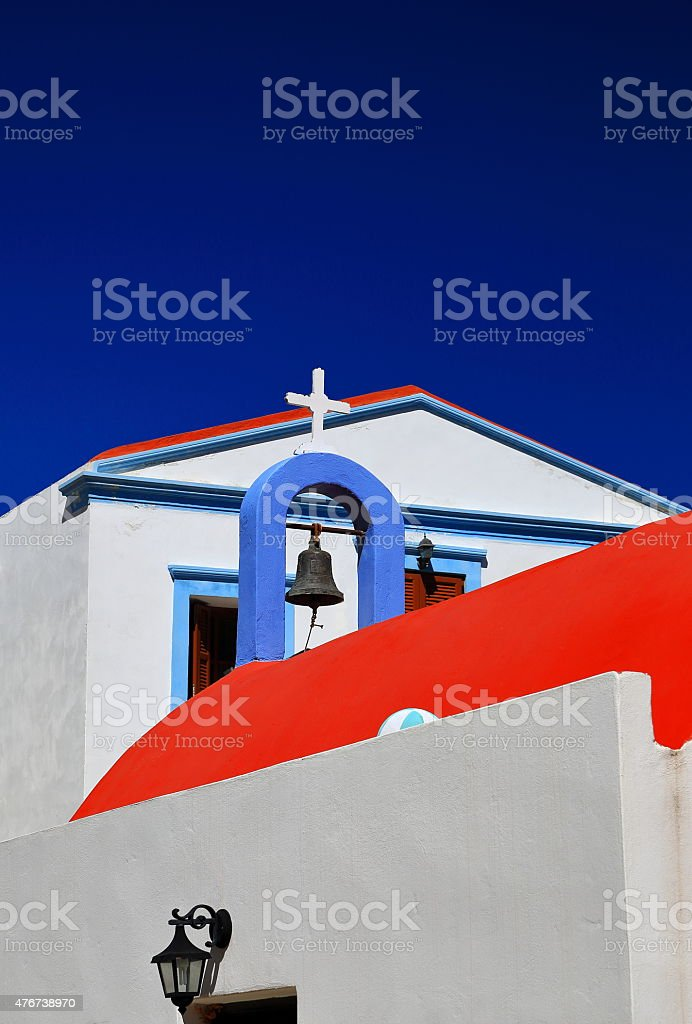 Orthodox church-Greece stock photo
