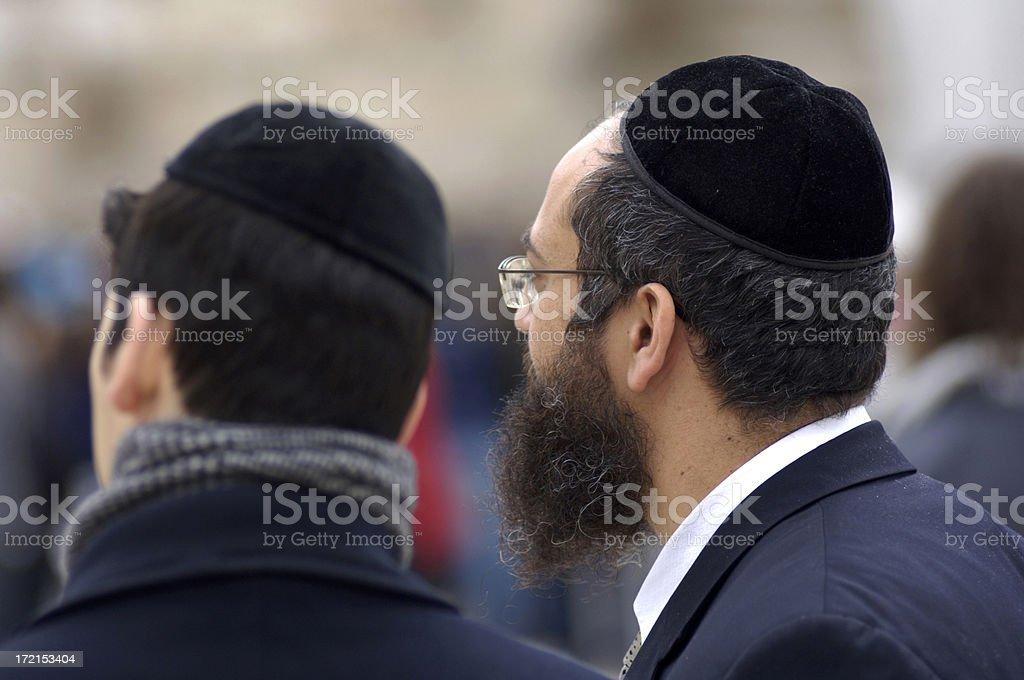 Orthodox jews royalty-free stock photo