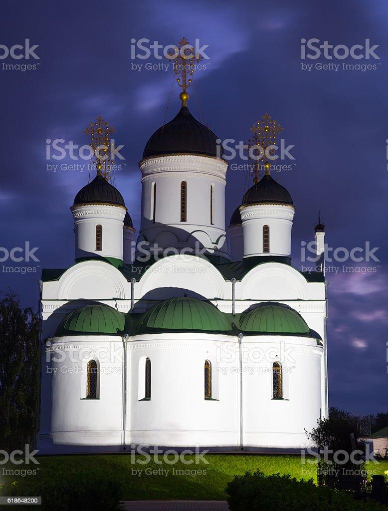 orthodox monastery in murom stock photo