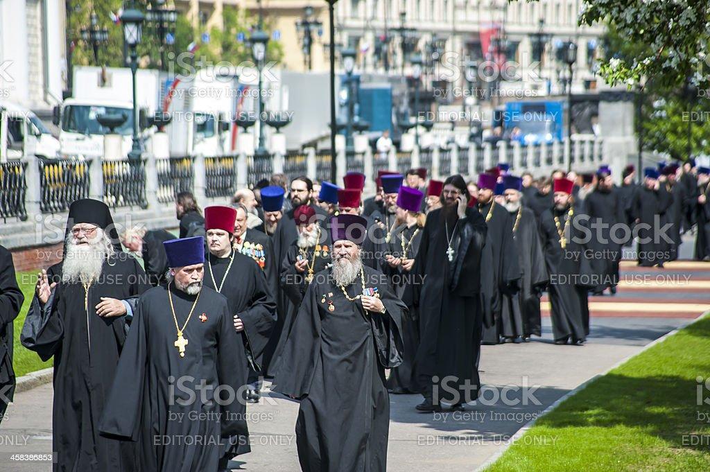 Orthodox Priests royalty-free stock photo