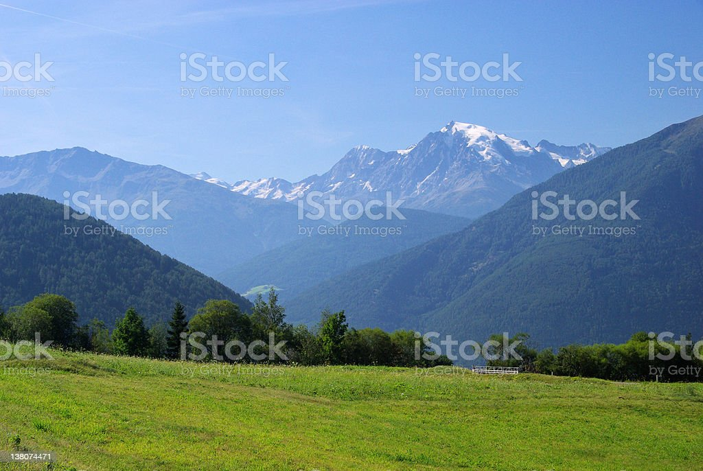 Ortler royalty-free stock photo