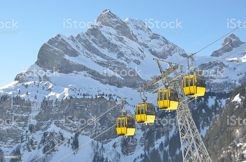 Ortstock mount, Switzerland royalty-free stock photo