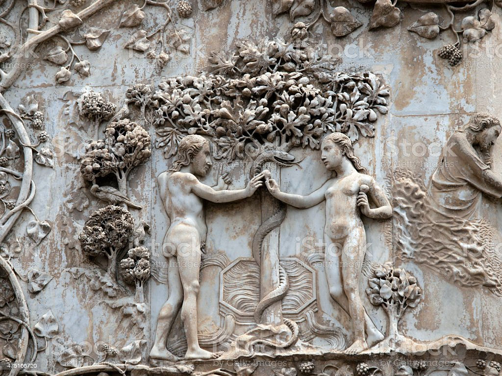 Orvieto Cathedral . stock photo