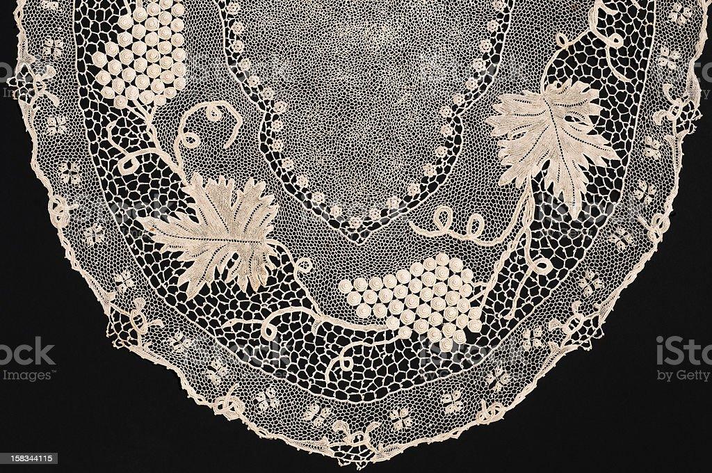 Orvieto crochet lace royalty-free stock photo