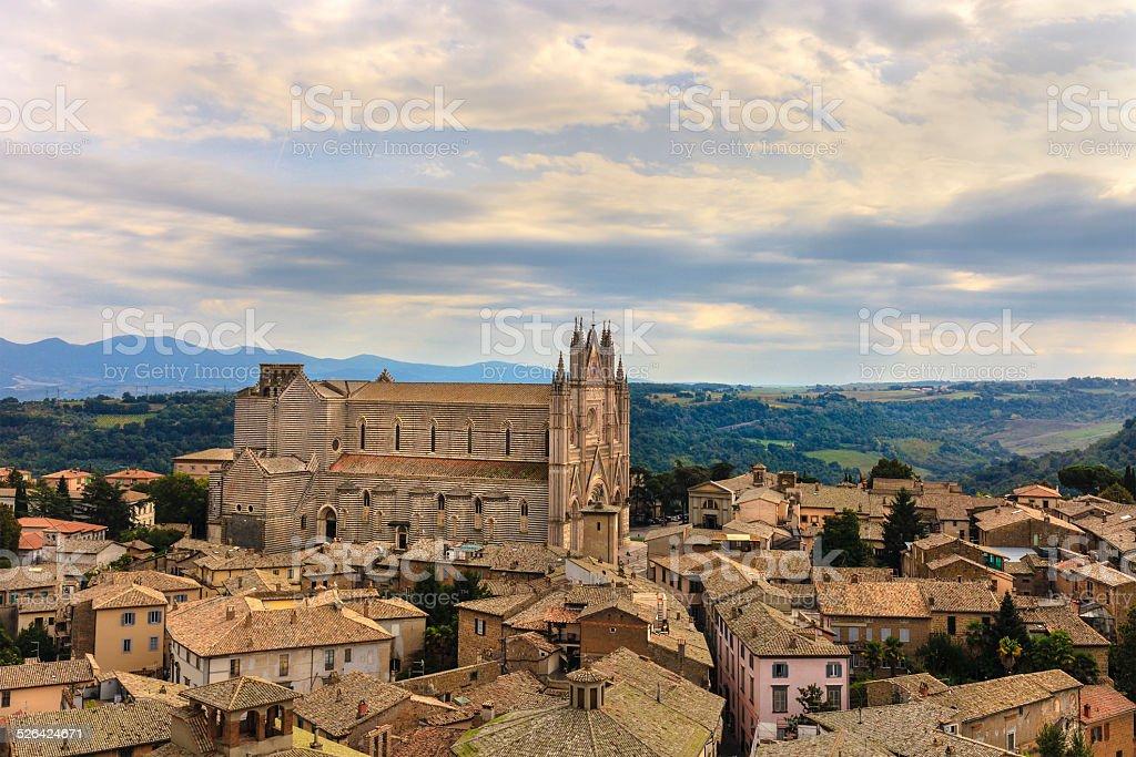 Orvieto, Italy stock photo