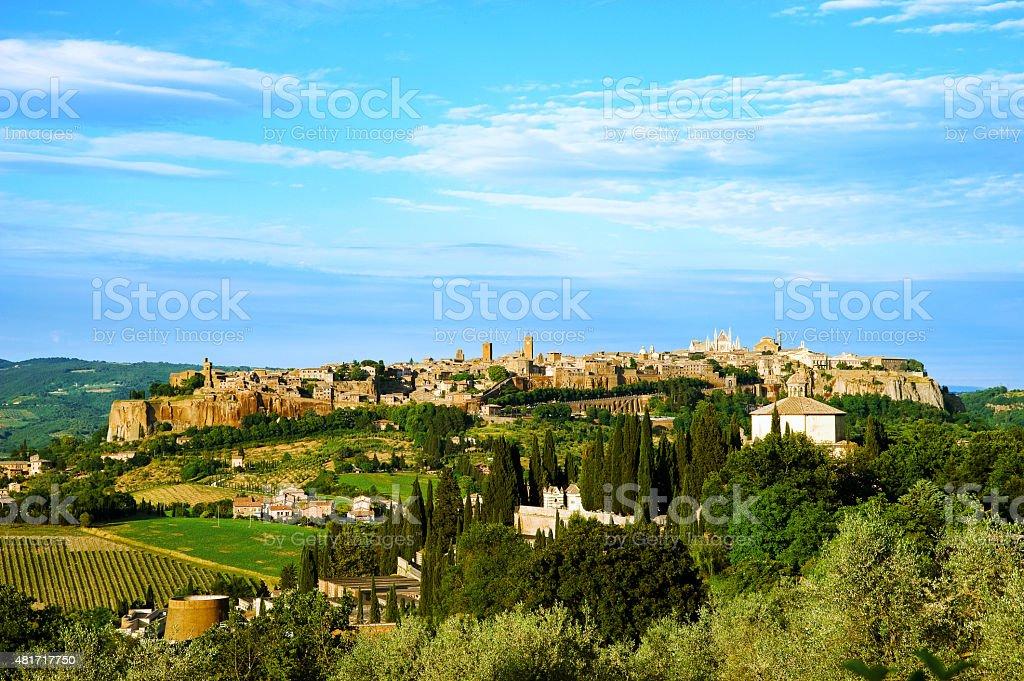 Orvieto: medieval city stock photo