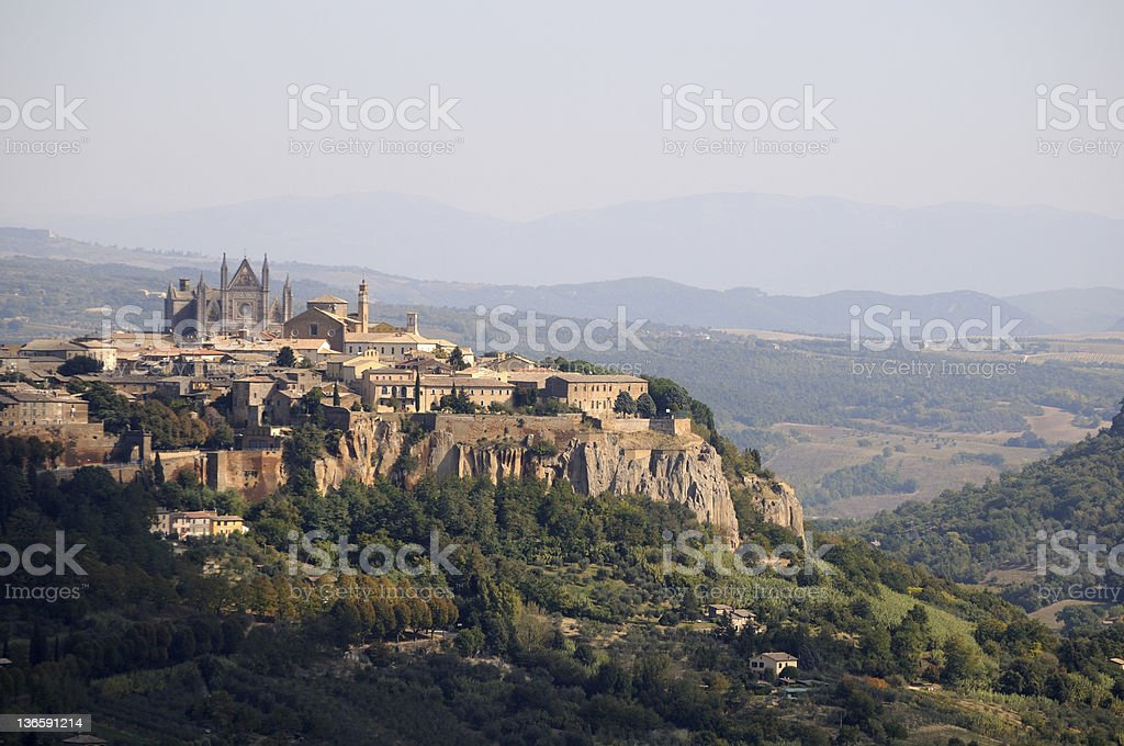 Orvieto stock photo
