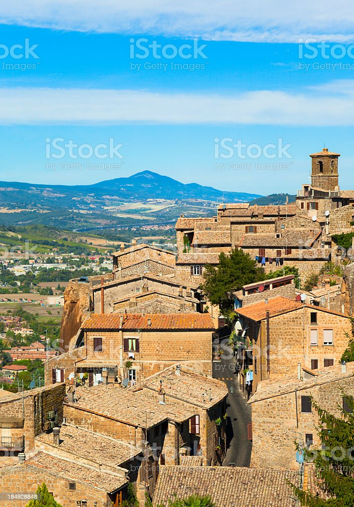 Orvieto (Umbria, Italy) stock photo
