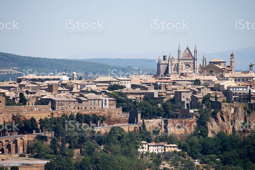 Orvieto view- Umbria stock photo