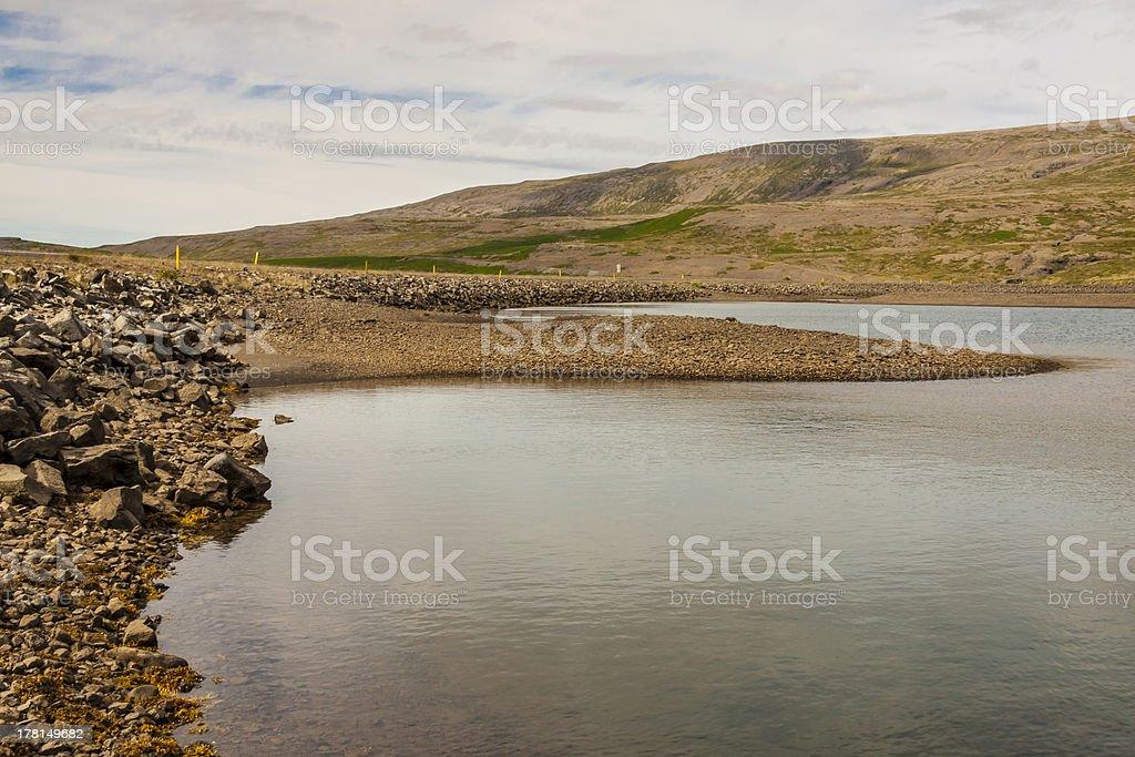 Osafjordur - Iceland, Vestfjords. royalty-free stock photo