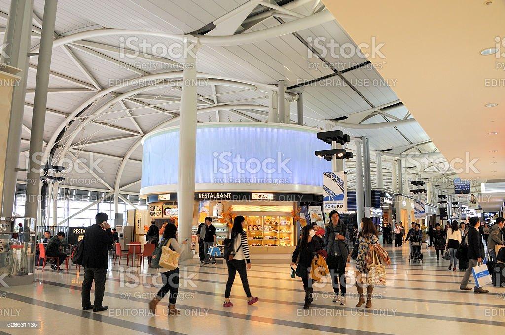 Osaka International Airport stock photo