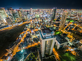 Osaka Night Skyline