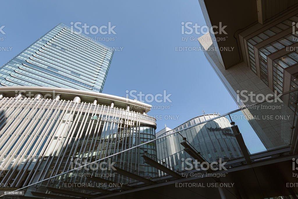 Osaka Skyscrapers stock photo