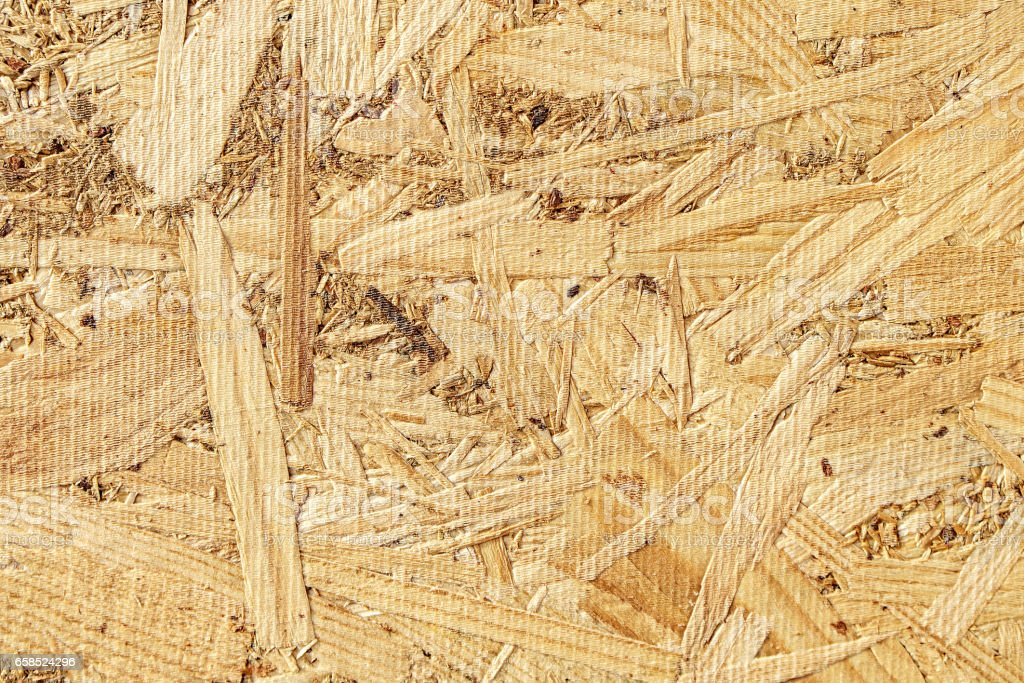 Osb background flat wood texture stock photo
